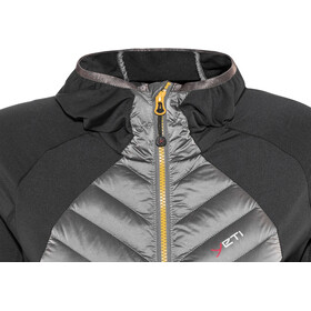 Yeti Tay Hybrid Down Hoodie Jacket Women Antracite/Gull Grey